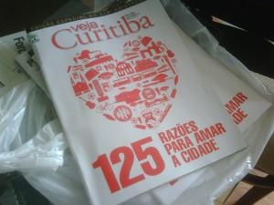 Veja Curitiba, 318 anos