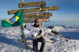 Cerro Plata 6000 metros
