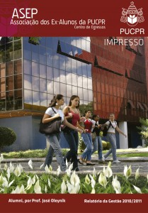 Revista Alumni mostra Relatório da Gestão 2010/2011 ASEP/PUC-PR