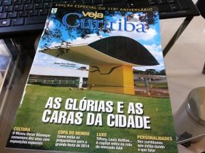 Revista Veja Curitiba comemora os 319 anos da capital do Paraná