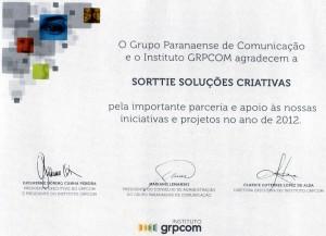 Certificado IGRPCOM 2012