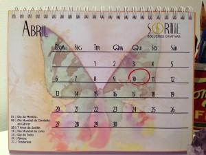 Sorttie lança calendário promocional 2014